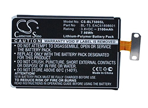 Cameron Sino 2100mAh/7.98wh batería de Repuesto para LG E975