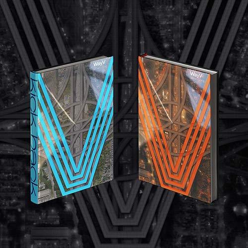SM Entertainment WayV - Kick Back (3rd Mini Album) Album+On Pack Poster+Extra Photocards Set (Stranger+Hitchhiker ver. Set)