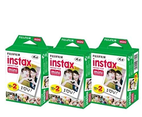 60 Feuilles mini film instantané pour Mini 8–9 et Tous Les appareils Photo Mini