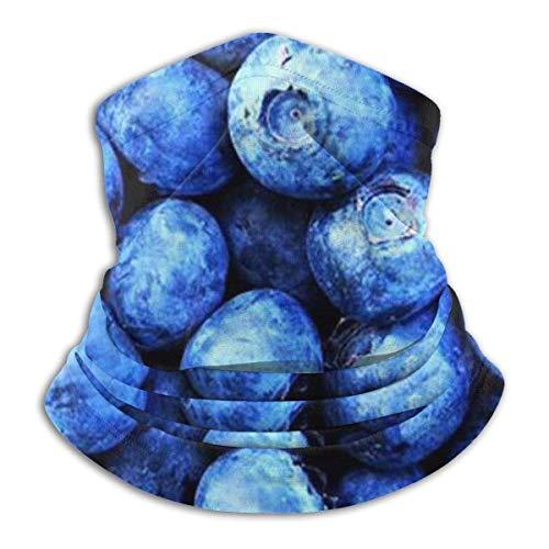 N/A Hals Gaiter Warmer Winddicht Gezichtsmasker Sjaal Outdoor Sport Masker Blueberry Patroon Voor Stof Buiten Festivals Sport Winddicht Mannen En Vrouwen
