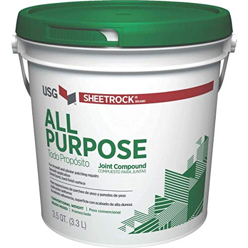 U S GYPSUM 385140 385140004 All Purpose Joint Compound, 3.5 Qt /3.3 liters (Pack of 1), 3300 millilitre