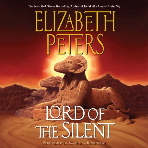Lord of the Silent Audiobook By Elizabeth Peters cover art