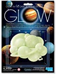 4M Glow In The Dark 3D Solar System - STEM Science Planets Starry Night, Wall Stickers Room Décor