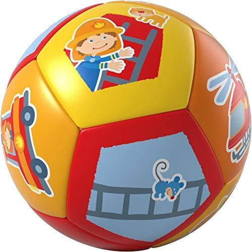 HABA- Balle pour bébé Pompiers, 304596