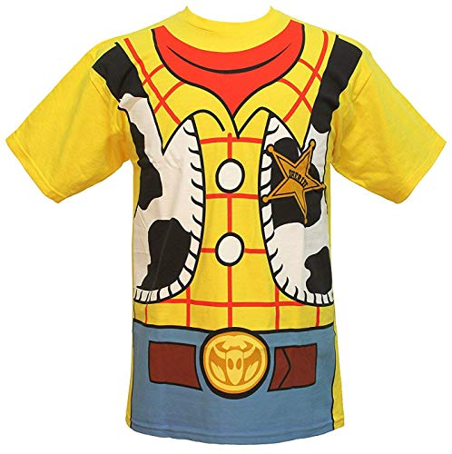 Toy Story Woody Cowboy Costume Adult T-Shirt Tee