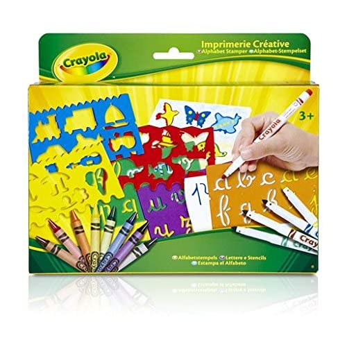 Crayola - 10527 - Kit de Loisir Créatif - Imprimerie Créative