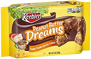 Keebler Fudge Shoppe Cookies, Fudge, Jif Peanut Butter and Crunchy Nuts, 8 oz