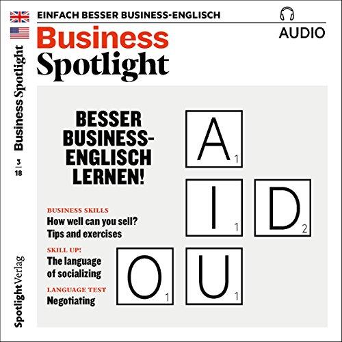 Business Spotlight Audio. 3/2018 Titelbild