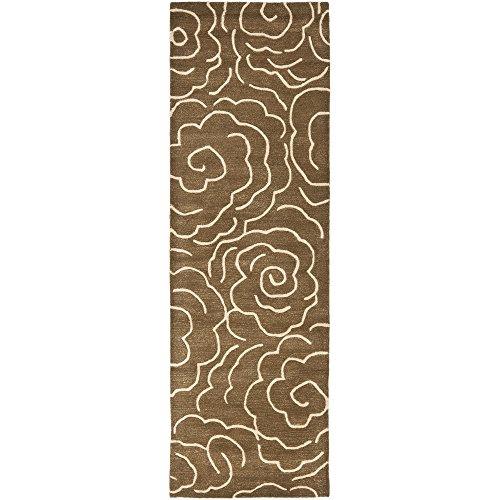 Safavieh Soho Collection SOH812C Handmade Premium Wool & Viscose Runner, 2'6