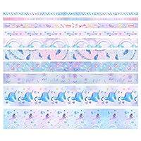 マスキングテープ 可愛い カワイイ メモ ポケットファイル 付箋 日記文字装飾 シール ハンドアカウントステッカー ギフト DIY 手帳 和紙