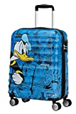 American Tourister Wavebreaker Disney Spinner Hand Luggage, 55 cm, 36 L, Bleu (Blue)