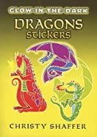 Glow-in-the-Dark Dragons Stickers (Dover Little Activity Books Stickers) [並行輸入品]
