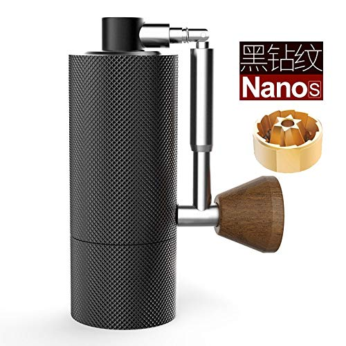 Why Choose NANO best small hand crank coffee grinder 2020 portable adjustable setting conical burr M...