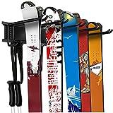 WALMANN Garage Storage Organization System Ski Wall Rack 10 Pairs of Skis Mount Hanger Home Shed and...