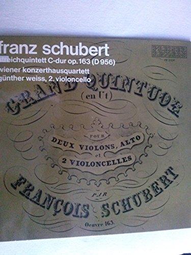 Franz Schubert, Streichquintett C-dur op. 163 (D 956), Wiener Konzerthausquartett Günther Weiss, 2. Violoncello