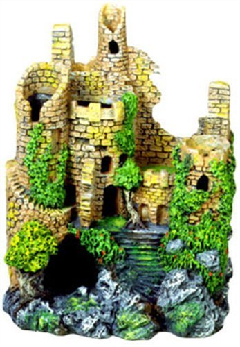 Exotic Environments Forgotten Ruins Aquarium Ornament, 7-Inch by 5-Inch by 10-Inch