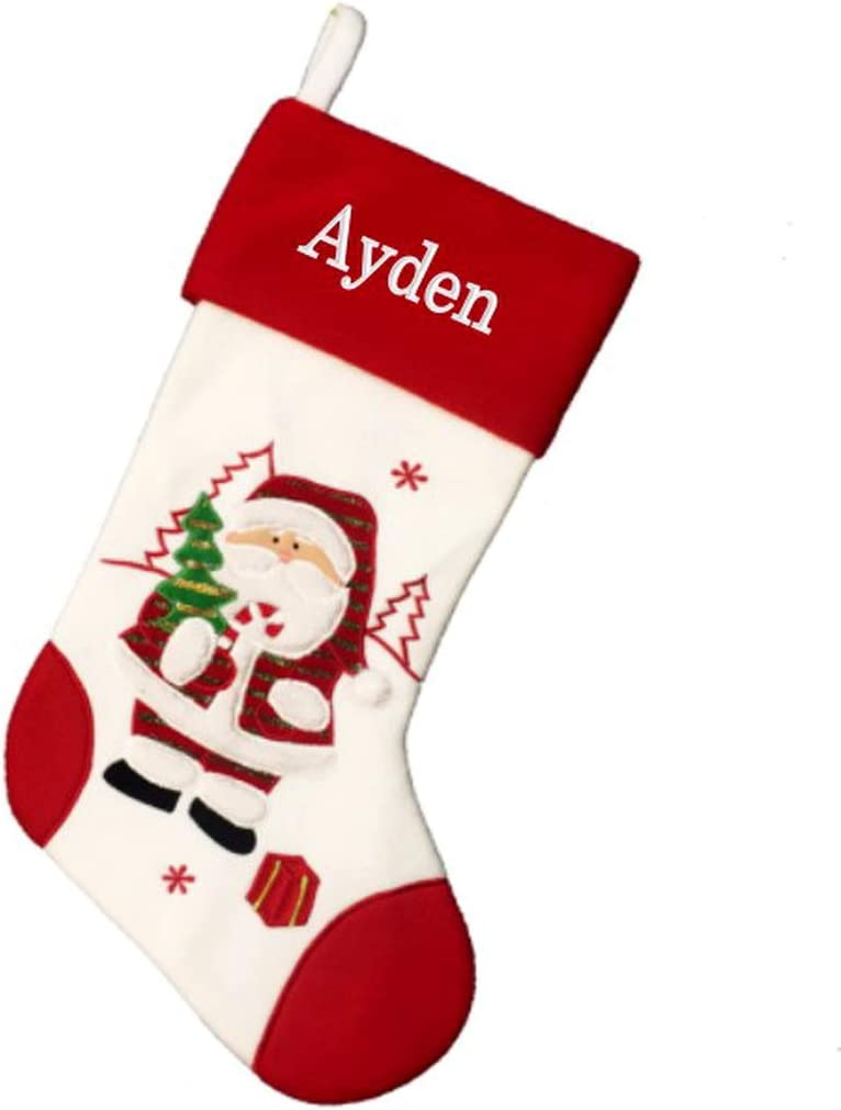 DIBSIES lowest price Bombing free shipping Personalized Holiday Christmas Stocking Santa