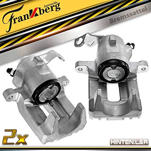 2x Bremssattel Hinten Links Rechts für A3 8L1 TT 8N3 8N9 Leon 1M1 Toledo II 1M2 Octavia I 1U2 Bora 1J2 1J6 Golf IV 1J1 1J5 1996-2006 1J0615423B