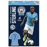 Manchester City Raheem Sterling Set mit 4 lizenzierten