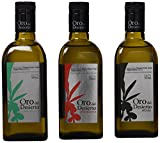 Oro del Desierto Aceite de Oliva Virgen Extra Ecológico - Paquete de 3 x 500 ml - Total: 1500 ml
