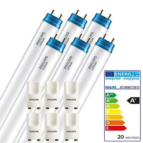 6 STÜCK PHILIPS LED Tube 20 Watt 1500mm Länge wie 58 Watt Röhre Lampe 840 weiß