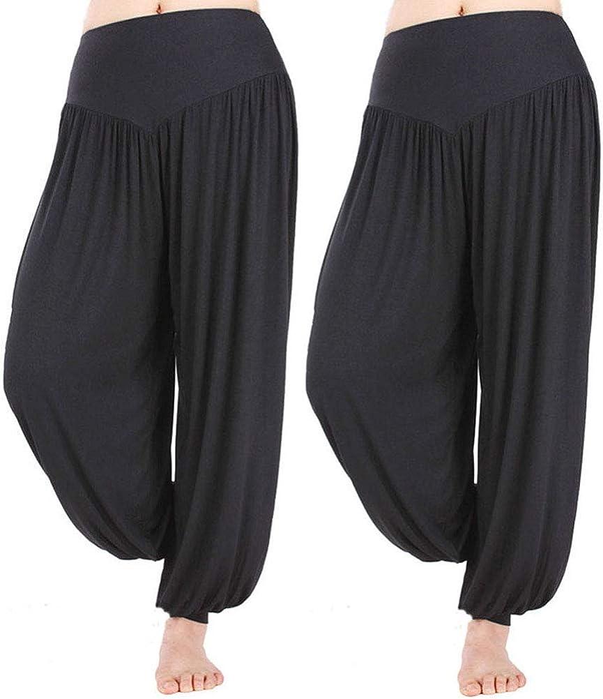 Hoerev Brand Super Max 73% OFF Soft Modal Yoga Some reservation Harem Pilates Pants Spandex