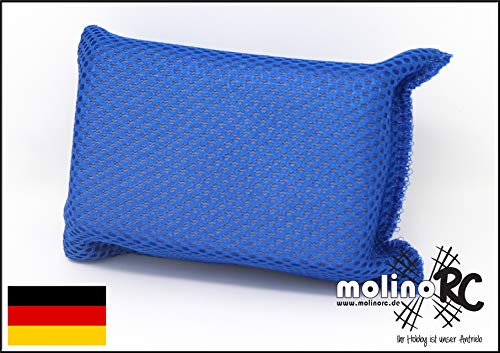 molinoRC Autoschwamm | Schwamm für KFZ | Klare Scheibe | Mikrofaser | klare Sicht | für nass und trocken | Sicherheitsschwamm