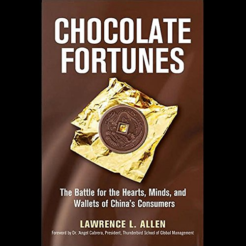 Chocolate Fortunes audiobook cover art