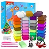 ifergoo 36 Colors Air Dry Clay, Magic Clay Artist Studio Toy, No-Toxic Modeling Clay & Dough, Molding Magic...