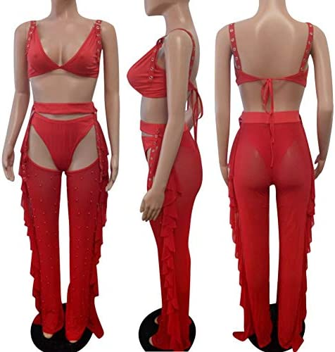 2 piece outfit pants and crop top _image4