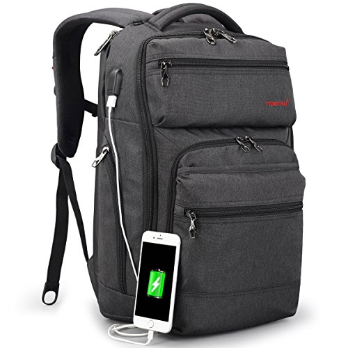 TIGERNU Business Backpack fits 15.6 Inch laptop/notebook Computer Backpack with USB Charging...