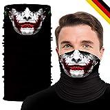 TILLMANN'S Bedrucktes Multifunktionstuch – Face Shield – Cooler Mundschutz Joker Maske – waschbar – Halstuch für Frauen & Männer