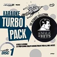 Zoom Karaoke CD+G Turbo Pack - All Male Hits - 10 Discs [Card Wallets] by Zoom Karaoke