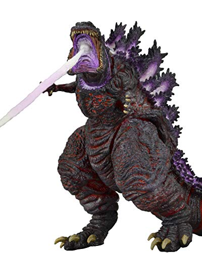 "NECA 12"" Head-to-Tail Action Figure, Atomic Blast Shin Godzilla (2016), Brown"