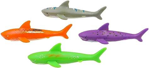haomsj Swimming Pool Toys Dive Torpedo-Shark (4-Pack)