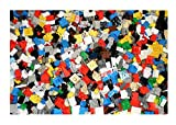 1000 + Lego Pieces Blocks Brick Parts Random Lot Cleaned and Sanitized Bulk Lbs