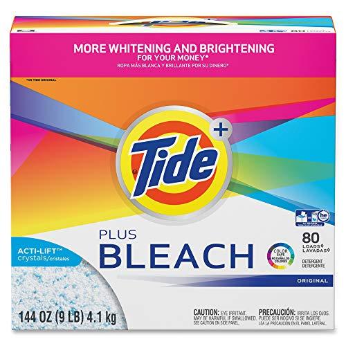 Tide Vivid Plus Bleach Detergent, White, Model: 84998CT