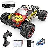 2021 Upgraded 1:18 High-Speed RC Car: The newly upgraded 9300 high-speed remote control car has larger tires and newly designed tire threads, which gives it a stronger grip. The well-designed hub metal sheet increases the strength of the hub to preve...