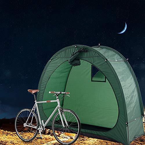 Galapara Fahrrad-Zelt Fahrradschuppen 190T Fahrradaufbewahrung Schuppen mit Fenster Design für Outdoor Camping