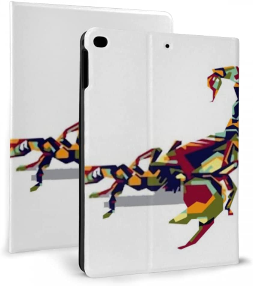 Case for safety ipad 2017 2018 Attention brand air 1 2 Prote Scorpion Full Color