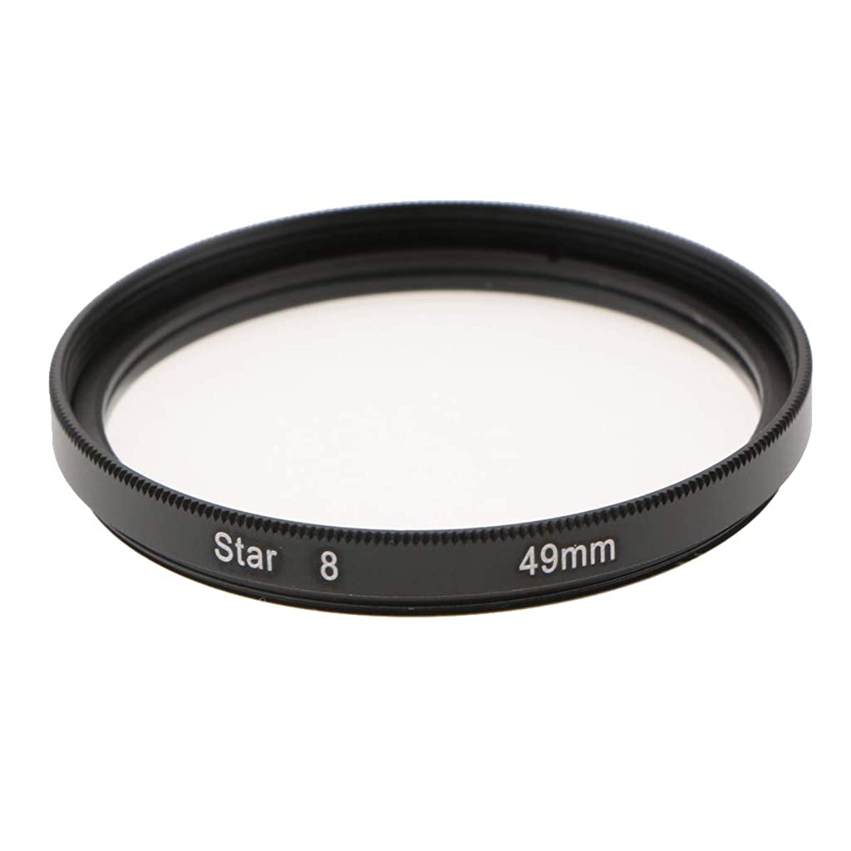 Prettyia Photography 49mm 8 Points Star Cross Screen Lens Filter Made of Optical Glass