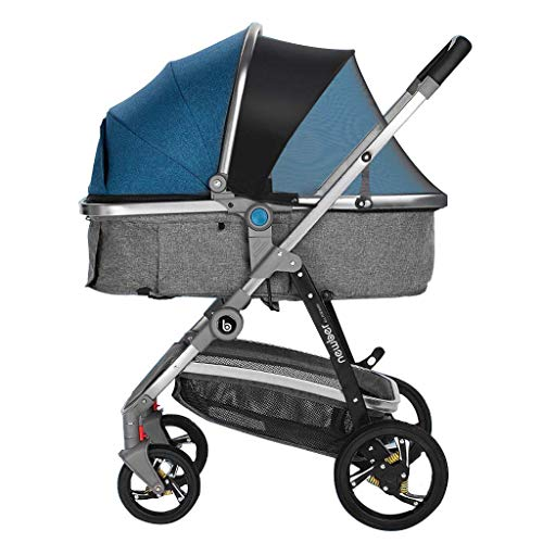 Read About New Baby Stroller Can Sit and Lay Children Light Folding High Landscape Newborn Baby Chil...
