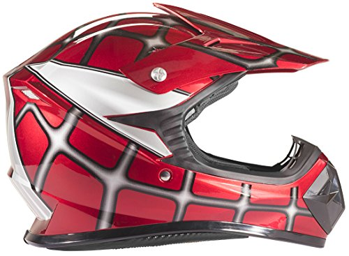 Typhoon Kids Youth Offroad Helmet DOT Motocross...