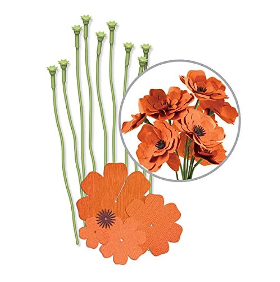 We R Memory Keepers Crepe Paper Flowers Orange