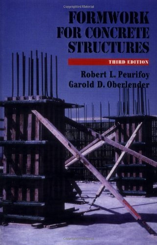 Formwork For Concrete Structures by Robert Peurifoy (1995-12-01)