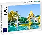Lais Puzzle Fuente Monumental en el Parque de la Ciutadella Barcelona, España 1000 Piezas