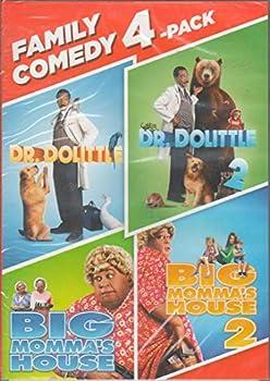 Family Comedy 4-Pack  Dr Doolittle / Dr Doolittle 2 / Big Momma s House / Big Momma s House 2