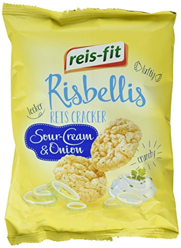 reis-fit Risbellis Reis Cracker Sour-Cream & Onion , 40 g