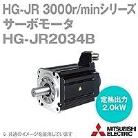 三菱電機 HG-JR2034B サーボモータ HG-JR 3000r/minシリーズ 400Vクラス 電磁ブレーキ付 (低慣性・中容量) (定格出力容量 2.0kW) NN
