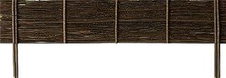 WINDHAGER–Cercado Mimbre Recto, 35x 100cm, Color marrón